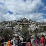 Limestone landscapes at El Torcal Nature Reserve, Antequera